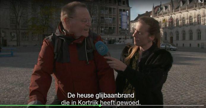 Vandedeursen trok onder meer op reportage naar Kortrijk om de miserie die de mensen daar voelden, op te meten.