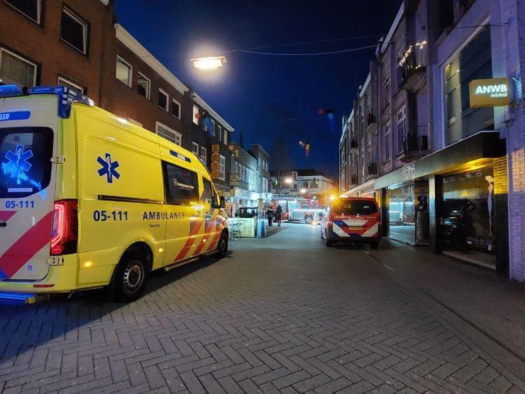 Explosief naar binnen gegooid bij portiek binnenstad Hengelo