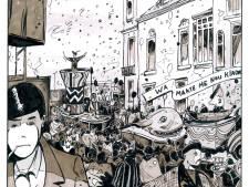 Stripboek over Rode Jeugd in Eindhoven: 'Een rare overlap van carnaval en revolutie'