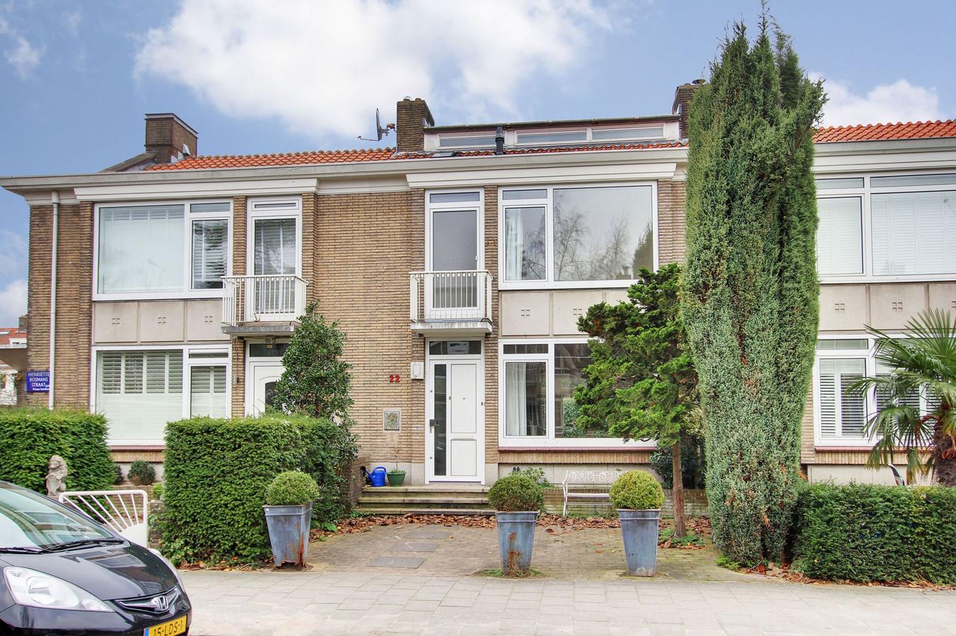Het rijtjeshuis staat in de populaire buurt Amsterdam-Zuid.
