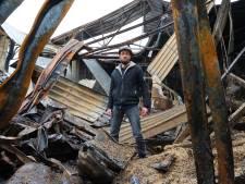 Camperbouwer (29) ontsnapte aan vuurzee in Drunen. 'Ik snap niet dat een brand zich zo snel ontwikkelt'