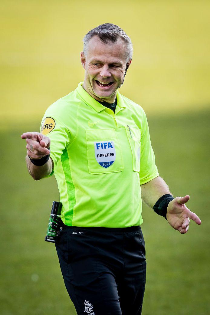 Bjorn Kuipers is vanavond de scheidsrechter tijdens FC Barcelona - PSG.