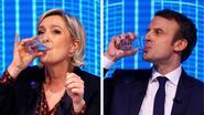 Frankrijk kijkt uit naar eerste tv-debat, Le Pen nog op kop in eerste ronde