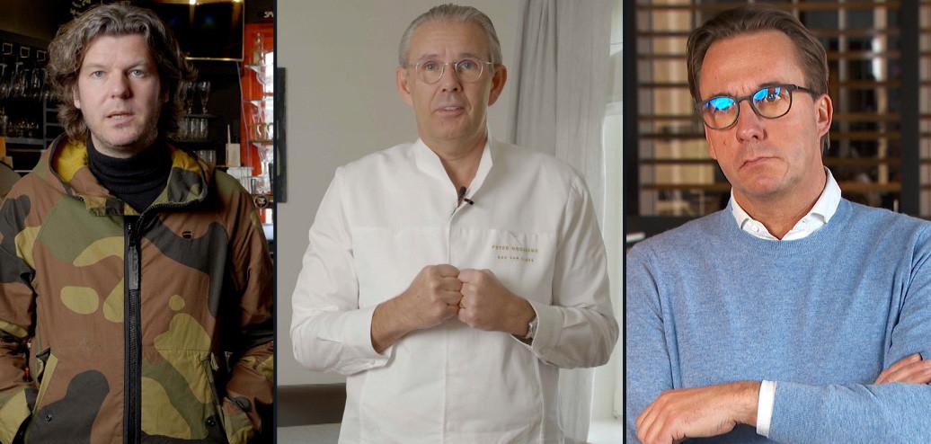 Gert De Mangeleer, Peter Goossens en Viki Geunes.