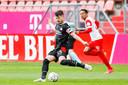Marco van Ginkel als captain van PSV in de laatste officiële wedstrijd van vorig seizoen.