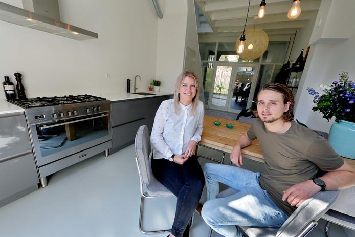 Eva en Kostein wonen in een monumentaal pand in de Grotekerksbuurt ...