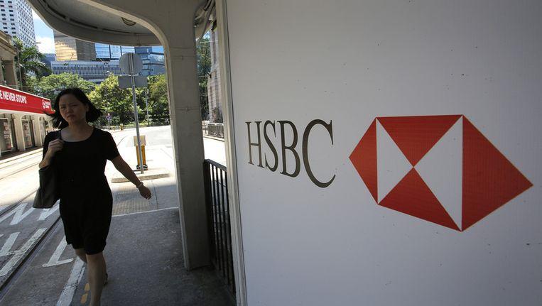 Een filiaal van HSBC in Hong Kong Beeld ap