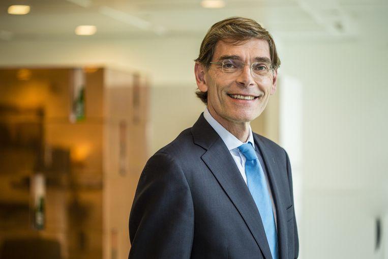 Financieel topman René Hooft Graafland van Heineken Beeld Heineken