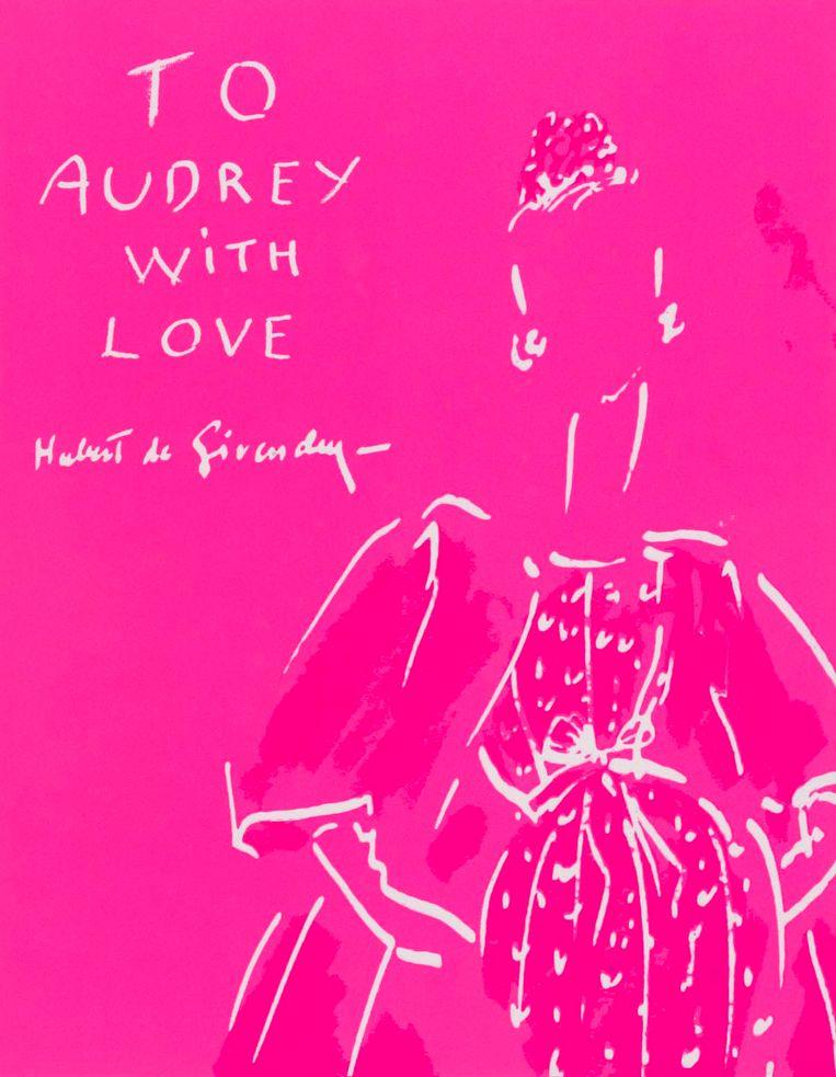 Boekcover van 'To Audrey with Love'. Beeld rv