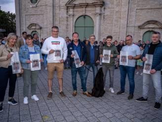 """Middenstand protesteert voor gemeentehuis tegen mobiliteitsplannen gemeente: """"Willen dialoog, geen monoloog"""""""