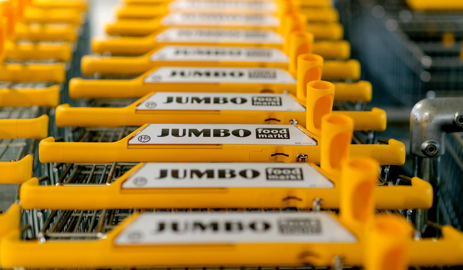 De opening van Jumbo Foodmarkt. In deze winkel komen Jumbo en La Place samen.