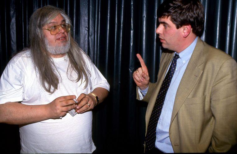 Jean-Pierre Van Rossem en Filip De Winter in 1992.