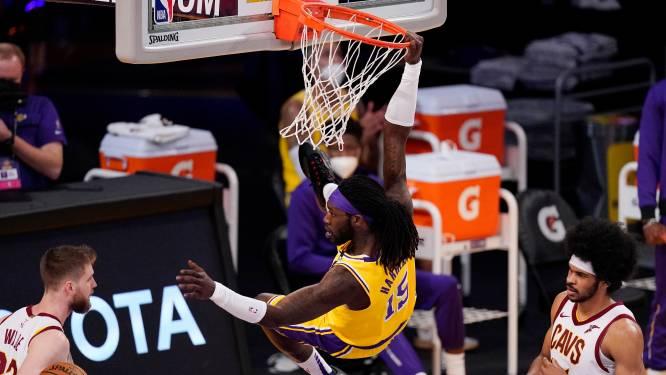 Het kan dan toch: Lakers winnen voor het eerst zonder LeBron James