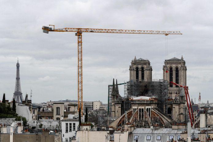 Notre-Dame de Paris, en février 2020
