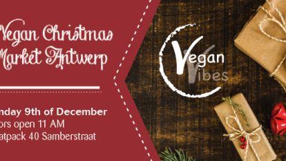 Antwerpen krijgt eerste vegan kerstmarkt van Vlaanderen