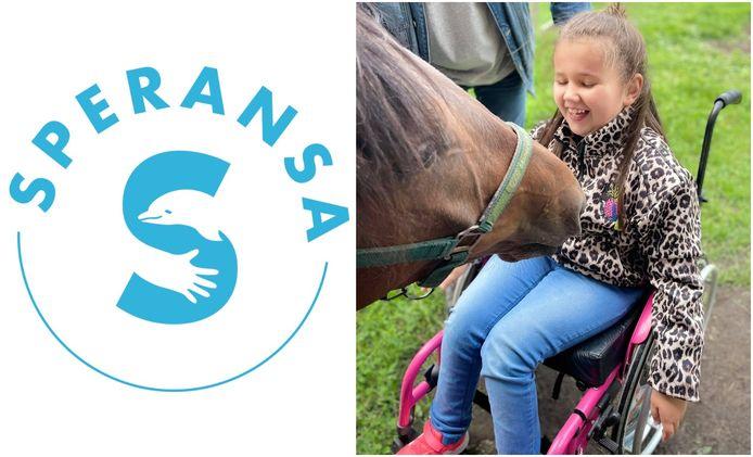 Yutta (7) uit Olmen is het allereerste kindje dat dankzij vzw Speransa naar Curaçao kan vertrekken voor dolfijnondersteunde therapie.