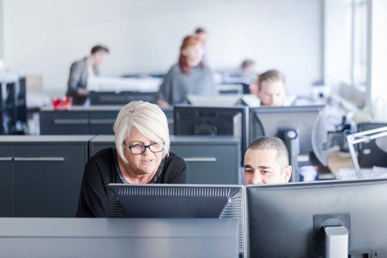 In juni van dit jaar bleek dat 14,1 procent van de arbeidscontracten een contract met een niet-Belg is.  Beeld Thinkstock