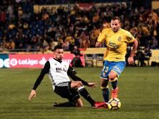 Negental Valencia verliest bij hekkensluiter Las Palmas