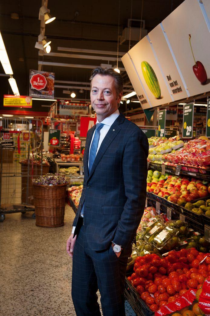 Marcel Huizing: directeur supermarktketen Dirk van den Broek.