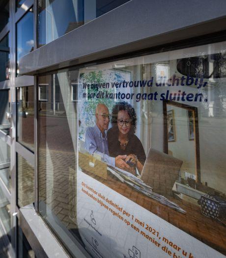 Zelfs Kampen (ruim 50.000 inwoners) is al te klein voor de Rabobank