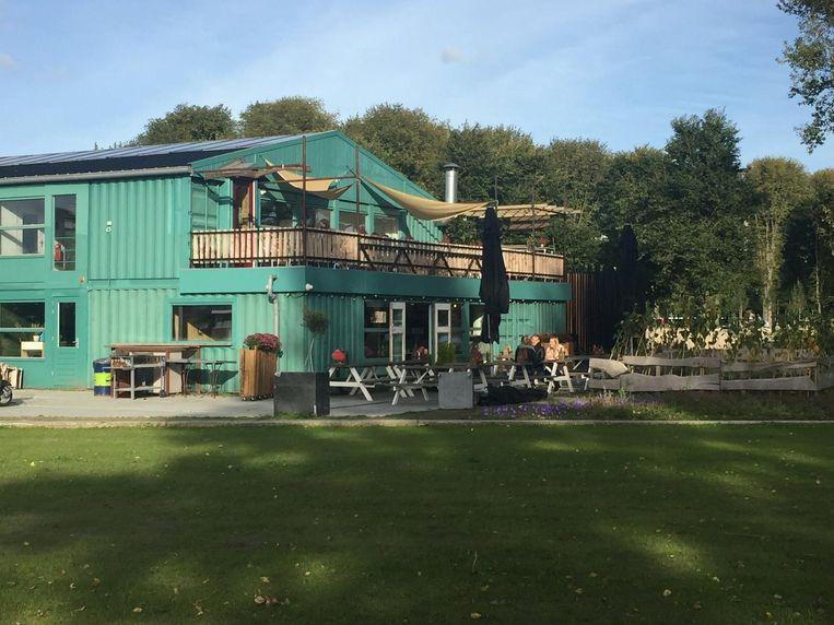 Hotel Buiten is on the northern bank of Sloterplas  Beeld Hotel Buiten