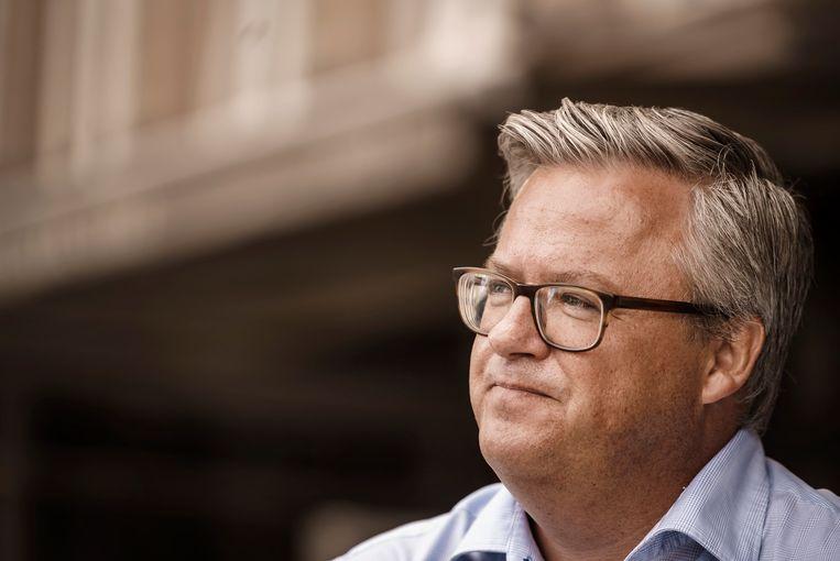 Politicoloog Carl Devos. Beeld Eric de Mildt