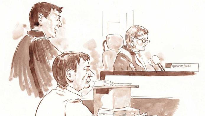 Alex O. moet zich vrijdag voor de rechter verantwoorden