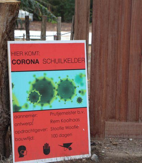 Project 'schuilkelder' in bosgebied bij Eibergen stilgelegd door de gemeente