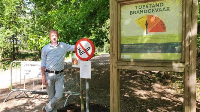 Vlaamse primeur voor Kalmthoutse Heide: roken voortaan verboden bij code geel