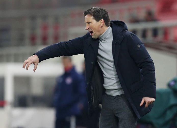Roger Schmidt stoorde zich aan de fouten achterin bij PSV.