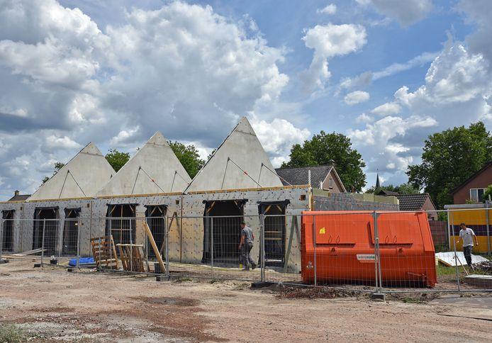Nieuwbouw aan het Vermeerplein in Clinge.
