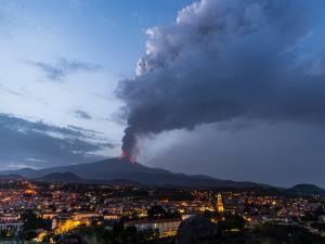 L'Etna de nouveau en éruption