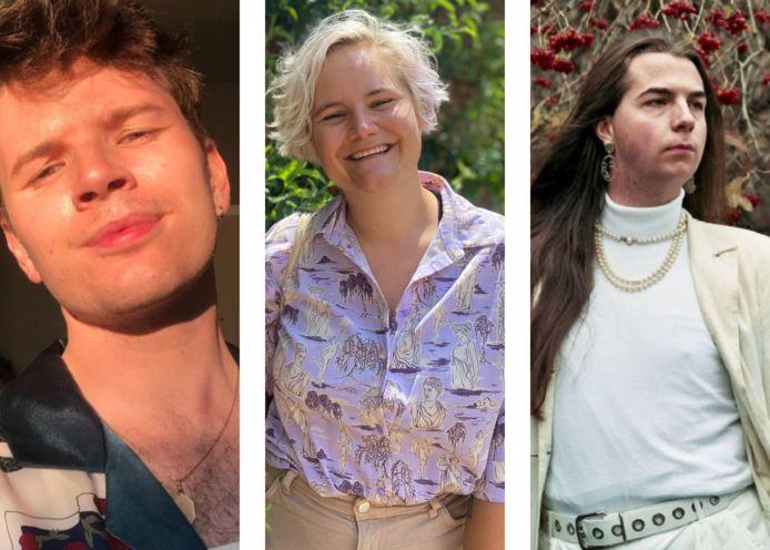 Jory, Klara en Emiel.