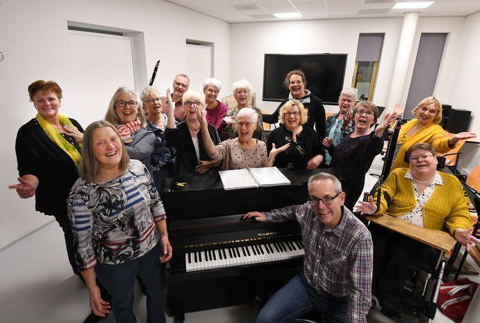Tiel Koor Dames koor Pro Musica.Foto William Hoogteyling.