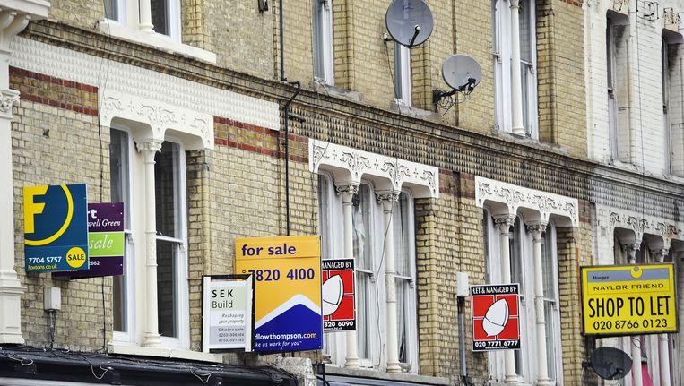 Appartementen te koop en te huur in Londen. Beeld EPA