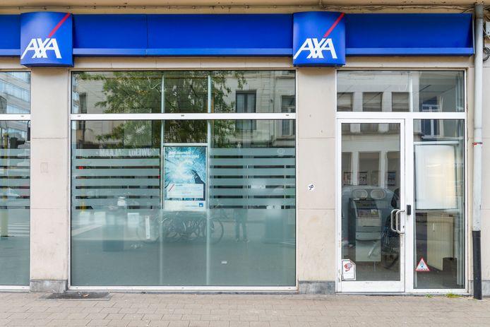 Een filiaal van AXa in Antwerpen.