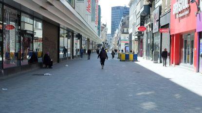 Nieuwstraat wordt in twee gedeeld voor voetgangers bij heropening winkels