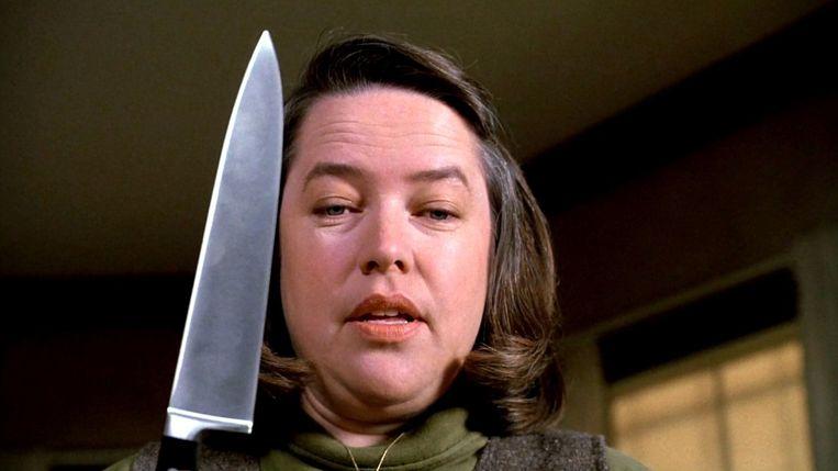 Misery met Kathy Bates. Beeld