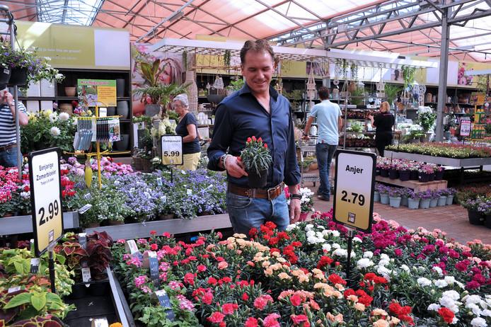 Leonard Batenburg van Tuinwereld: ,,Klanten willen leuke dingen doen in een tuincentrum.''
