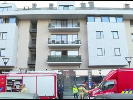 Incendie dans un immeuble à appartements à Tubize