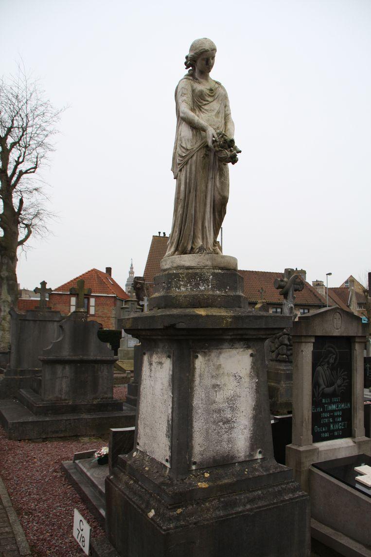 Het graf van Auguste Ollevier.
