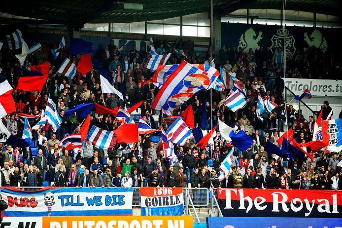 Willem II-fans op de KingSide.