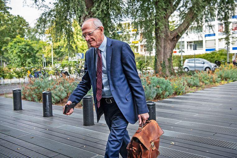 Sanderink werd eerder deze maand veroordeeld vanwege een smaad- en lastercampagne tegen zijn ex-vriendin. Beeld Guus Dubbelman / de Volkskrant