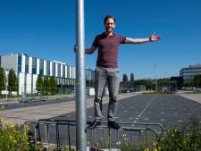 Wordt deze parkeerplaats in Woerden een evenemententerrein komende zomer?