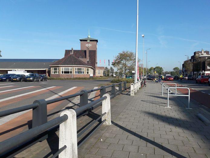 Een deel van het complex van de Brabanthallen.