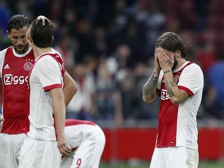 Europa League ver weg voor machteloos Ajax