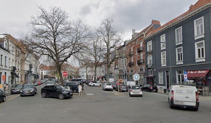 La place du Châtelain, à Ixelles (Bruxelles)