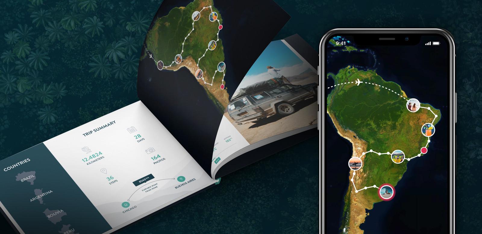 De Polarsteps Travel Books, het product waar Polarsteps het geld mee verdient