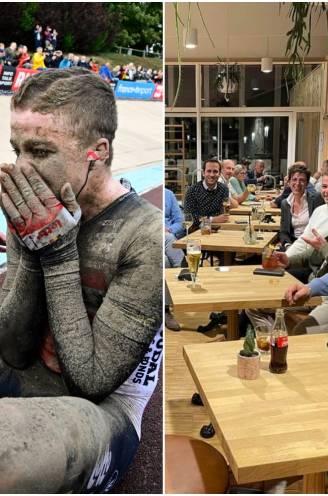 """Inwoners Zaffelare trots op 'hun' wielerheld Florian Vermeersch: """"Maandag nog in de gemeenteraad, zondag een epische prestatie in Parijs-Roubaix"""""""