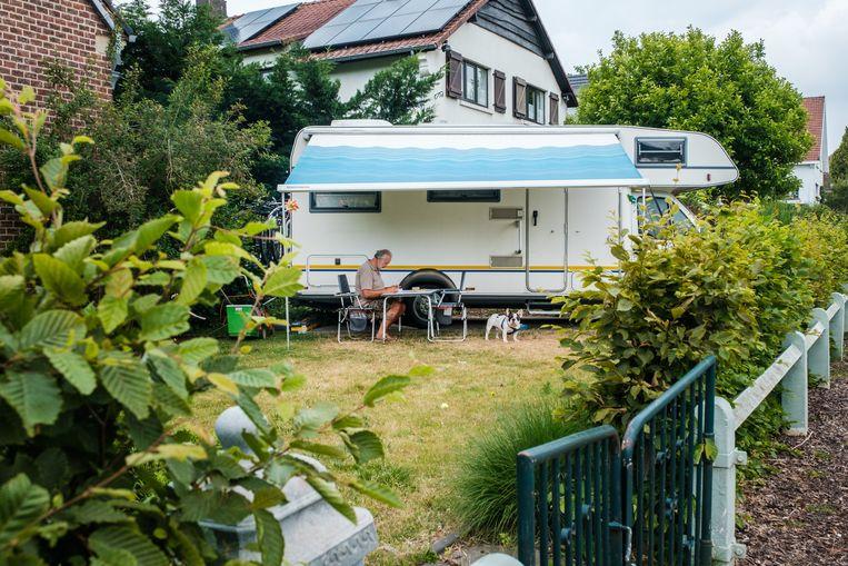 Voor 14 procent van de Belgen wordt het dit jaar een staycation.   Beeld Wouter Van Vooren